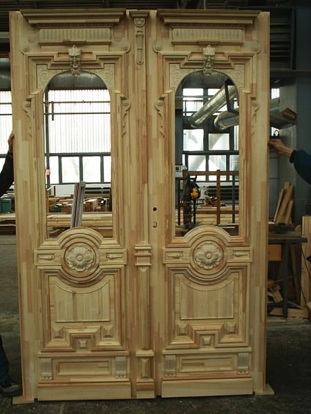 Tamplarie lemn | Usi Interior Exterior Lemn | Ferestre Lemn | Obloane Lemn - reconstituire-tamplarie11