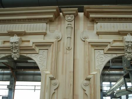 Tamplarie lemn | Usi Interior Exterior Lemn | Ferestre Lemn | Obloane Lemn - reconstituire-tamplarie111