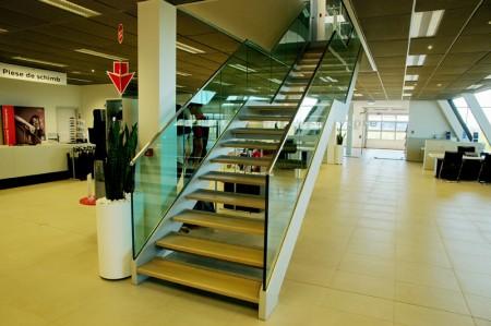 Tamplarie lemn | Usi Interior Exterior Lemn | Ferestre Lemn | Obloane Lemn - scari-interioare3jpg